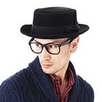 Шляпа BAILEY арт. 1451 JETT PORK PIE (черный)